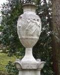 Detail des Familiengrabes Luckemeyer und Deus