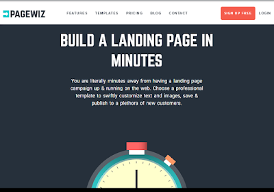 Pagewiz is one of the best landing page builders for online marketers