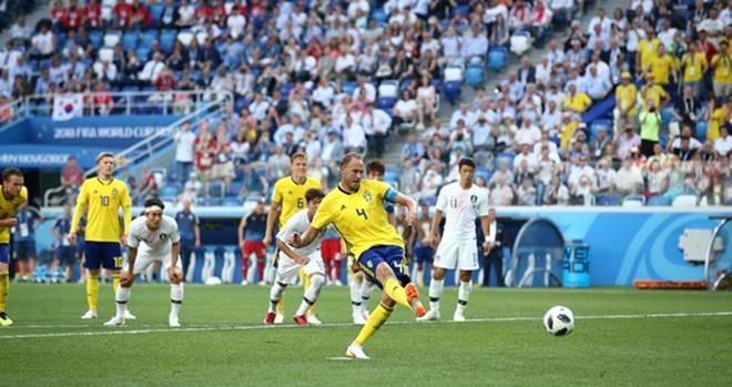 Pertandingan Swedia vs Korea Selatan - Piala Dunia 2018