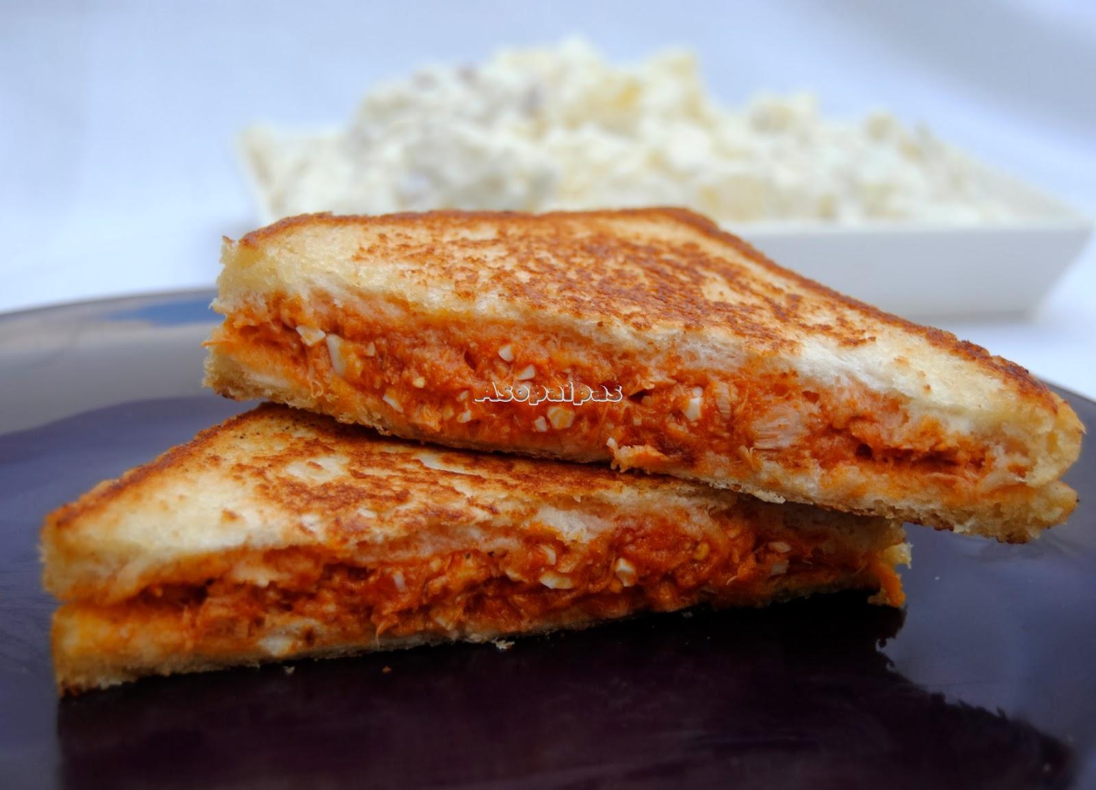 Sándwich de Atún y Tomate