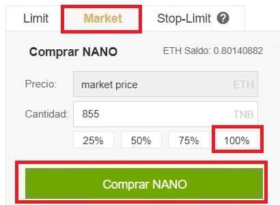 Cómo y dónde comprar criptomoneda NANO