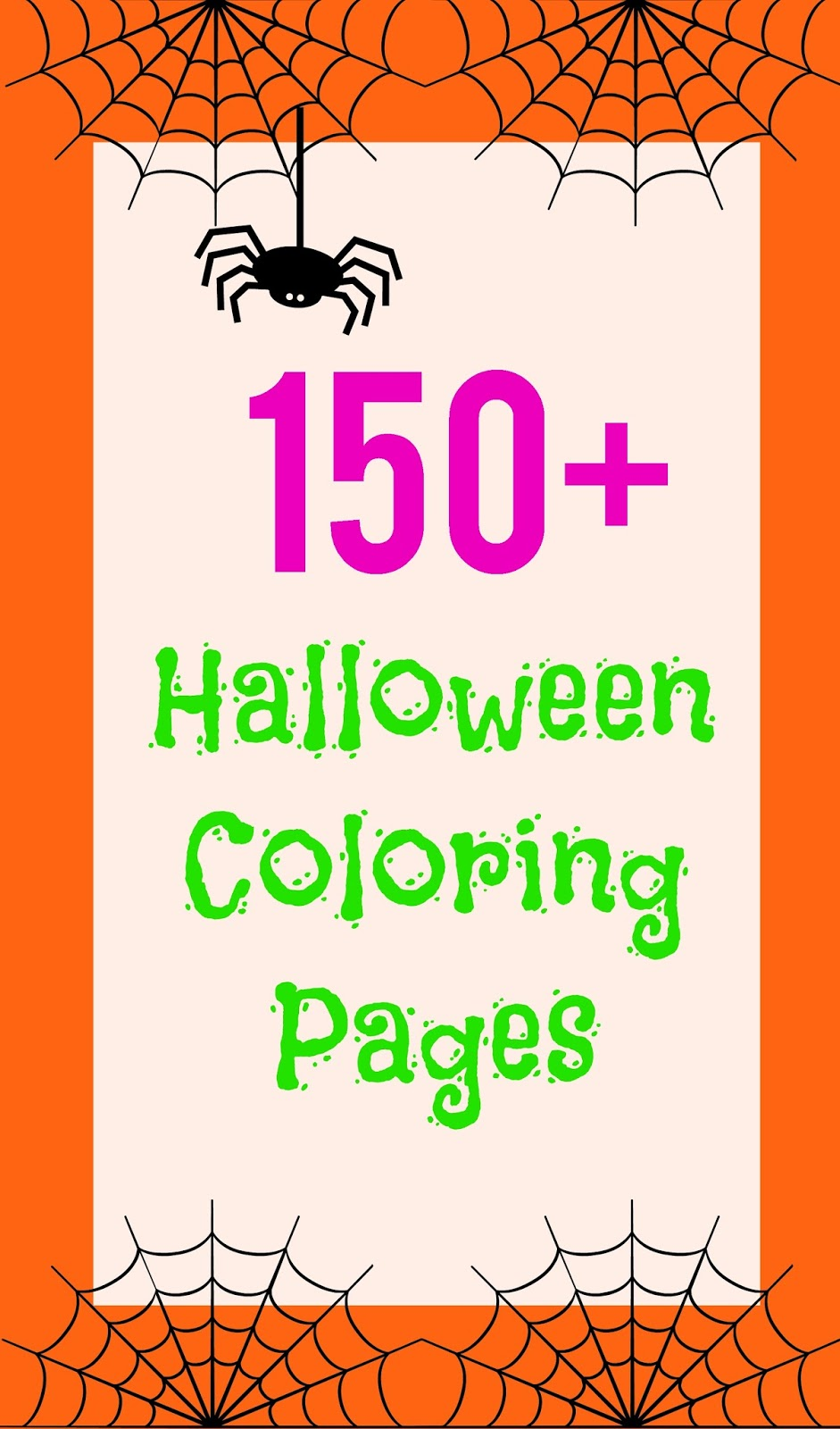 150+ Halloween Coloring and Activity Pages - Sunshine and Munchkins