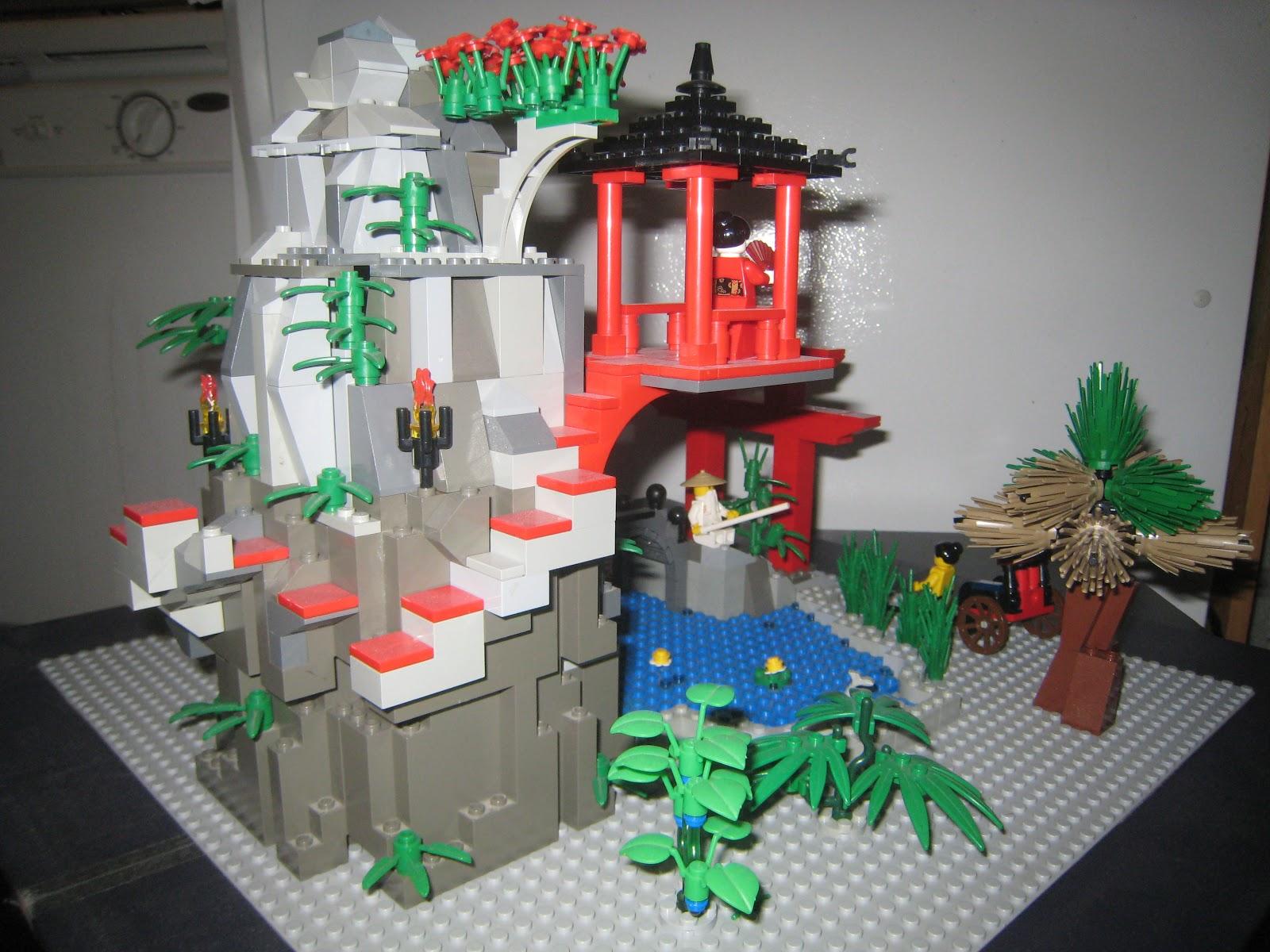 Lego R us: Lego Ninjago Japanese garden