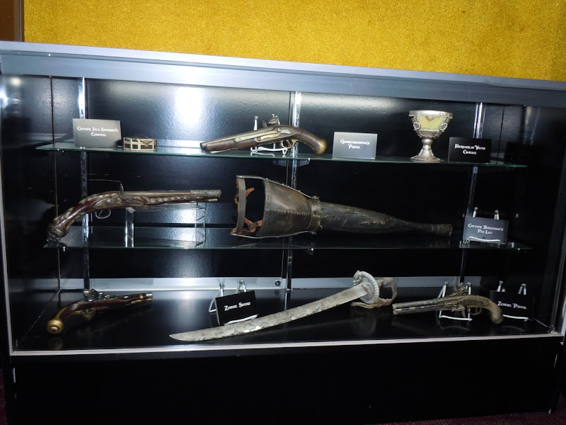 Pirates of the Caribbean 4 movie props