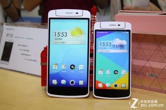 Oppo N1 dan Oppo N1 Mini