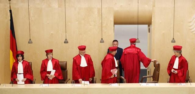 Jueces del Tribunal Constitucional aleman