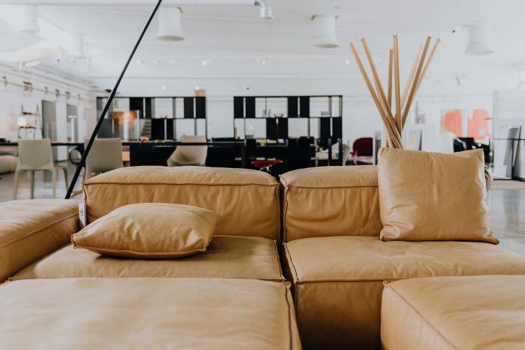 Skórzana kanapa