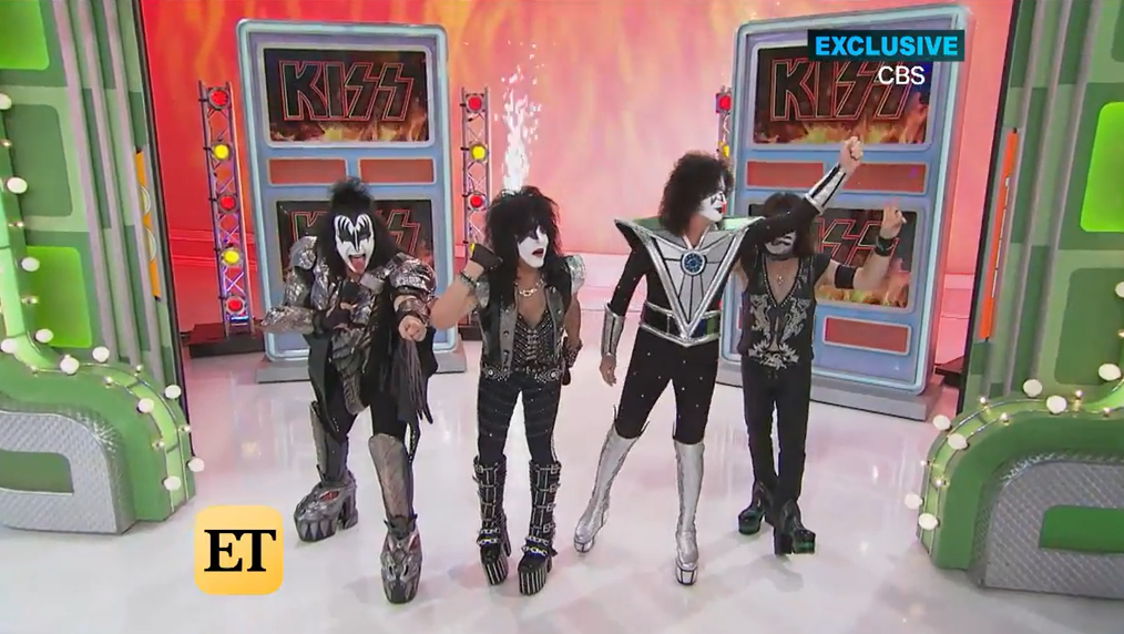 VIDEO: KISS to be on THE PRICE IS RIGHT