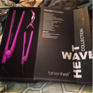 Review Fahrenheit Heat Wave Double Trouble Ceramic Iron Set