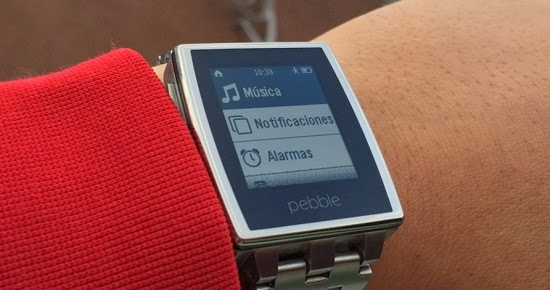 PEBBLE SMARTWATCH EN ESPAÑOL PARA ANDROID