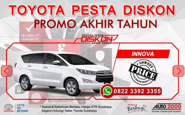 Promo Akhir Tahun Toyota Innova Surabaya