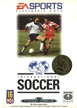 Rom de Fifa International Soccer - Mega Drive - PT-BR