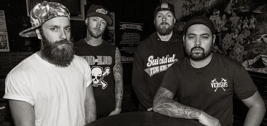<center>Cold Ground release video for new song 'Cannot Cut Me Down'</center>