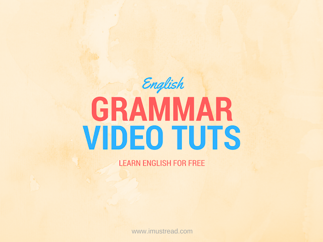 List of Best Video Tutorials About English Grammar