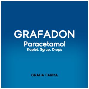 Grafadon : Paracetamol Kaplet, Syrup, Drops