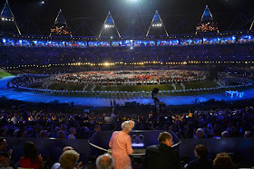 The Queen kicks-off London 2012 Olympics