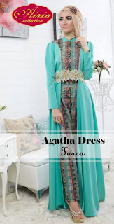 Model Baju Muslim Pesta Agatha Dress