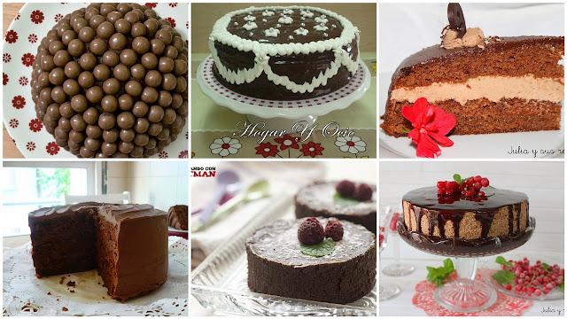 Tartas para los muy chocolateros. Julia y sus recetas