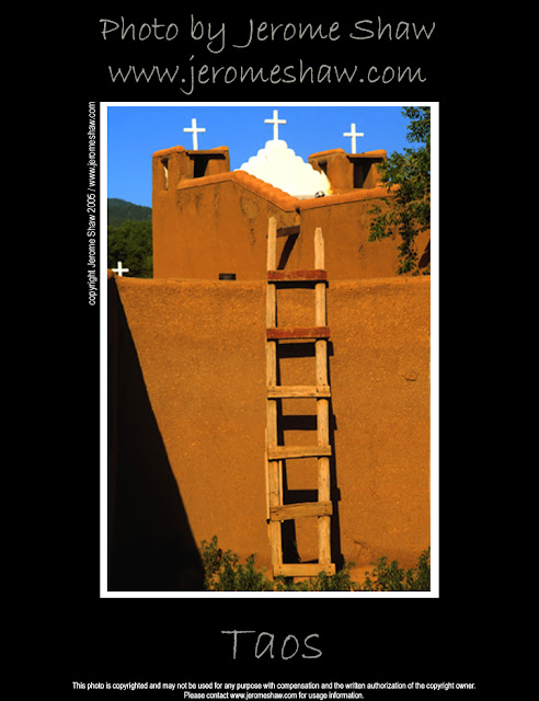 Four Crosses-  Taos Pueblo Taos, New Mexico USA