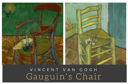 Gauguin's Chair by Vincent Van Gogh - Indian Screw Up