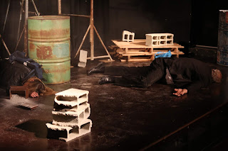 Val et Piet, froidement abattus (Photo : Yannick Perrin)