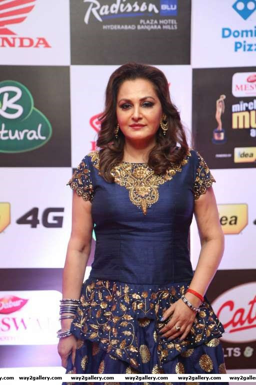 Jaya Prada arrives for Mirchi Music Awards South