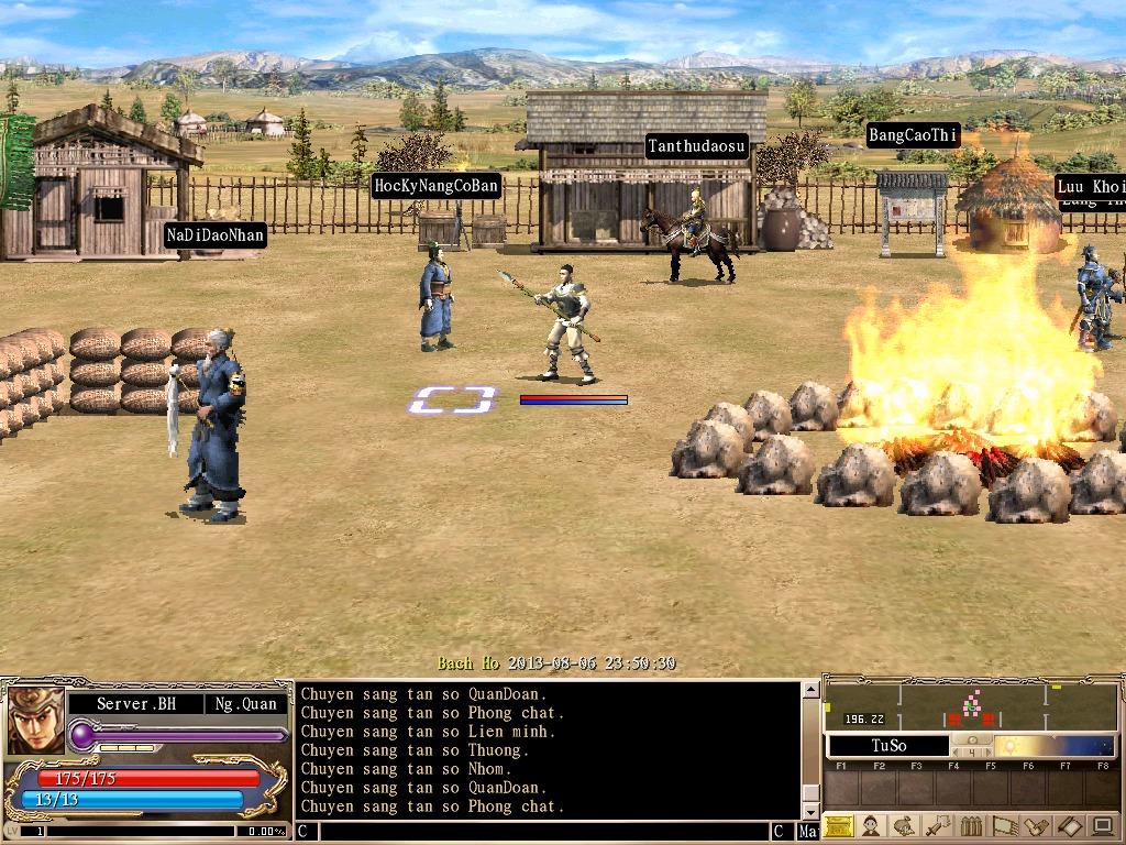 Các anh hùng hãy tìm đến NPC HocKyNangCoBan ở vị trí [196.20] các Map Hiệu  Đài, Map Thiên Đài, Map Tu Sở để nhận nhiệm vụ.