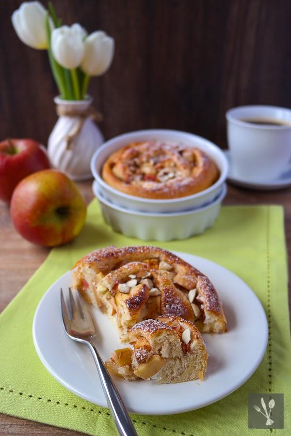 Apfel-Schnecken