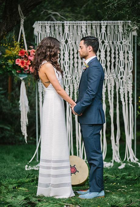 fondos de boda con macrame - decora tu boda con macrame