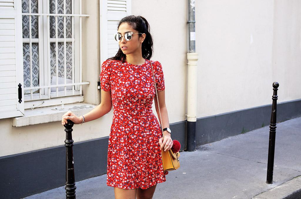 Elizabeth l Flower dress outfit blog mode l Asos Vans Quay Australia Valentino l THEDEETSONE l http://thedeetsone.blogspot.fr