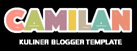 Logo Camilan Blogger Template