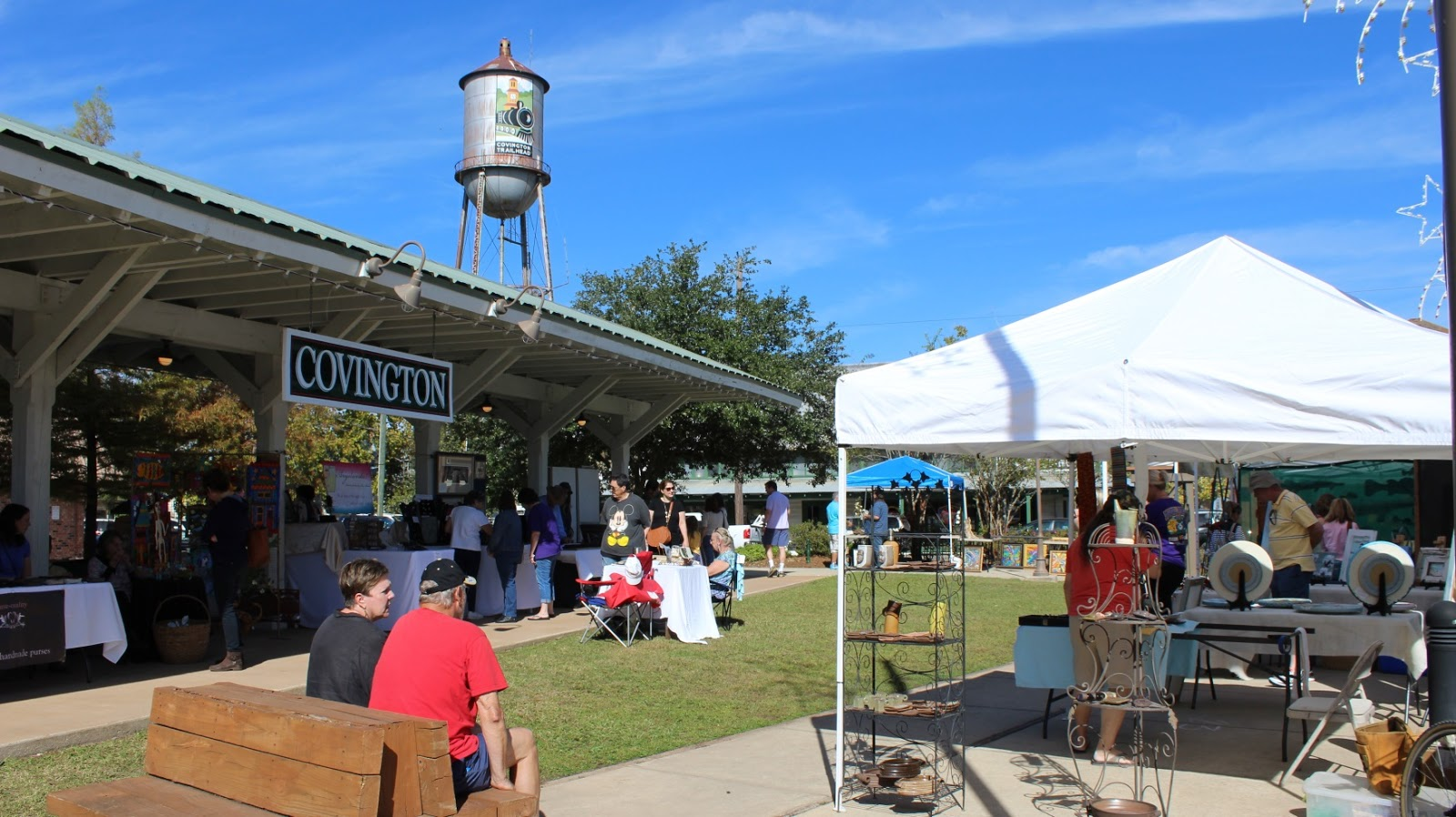 Tammany family covington art market nov 5 2016 for The covington