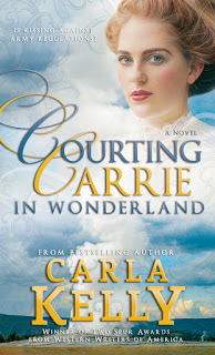 Heidi Reads... Courting Carrie in Wonderland by Carla Kelly