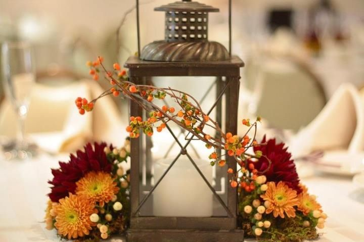 Ideas For Fall Wedding Centerpieces: Wedding Inspiration: Fall Wedding Centerpieces