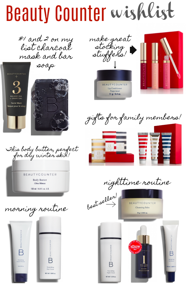 Beauty Counter Wishlist + Giveaway!