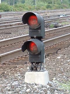 Semnal de alertă - imagine preluată de pe railroadsignals.us