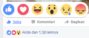 Bot Reaction Facebook