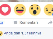 Auto Reaction Facebook