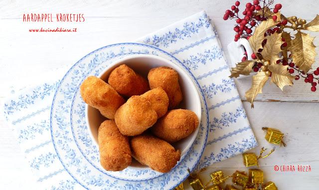Ricette Natalizie: dal Belgio Aardappel kroketjes, le famose crocchette di patate