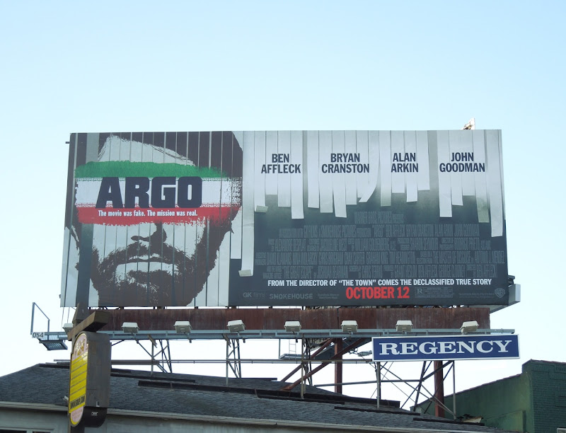 Argo movie billboard