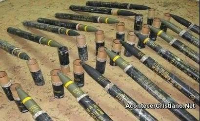Cohetes de Hamás en una escuela de la ONU
