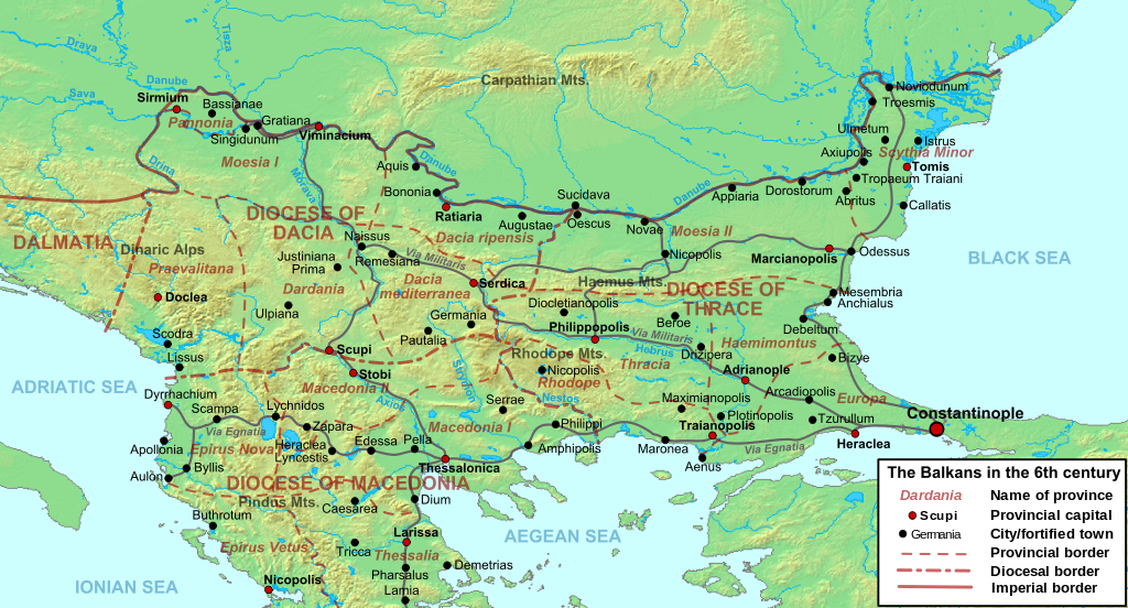 Map Of Eastern Europe And The Balkans