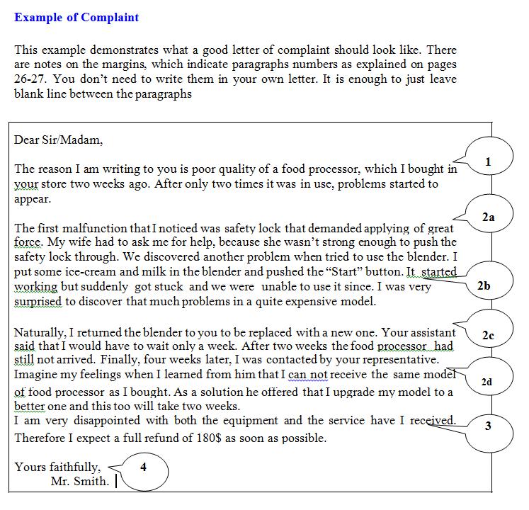 Tips for writing task 1 letter complaint job application request of information letter spiritdancerdesigns Choice Image