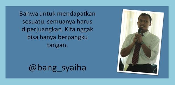 Pesan-Pesan Terselubung pada Tayangan Sasuke Ninja Warrior Indonesia, bekerja keras dan jangan pantang menyerah, Bang Syaiha, Penderita Polio, http://bang-syaiha.blogspot.com/