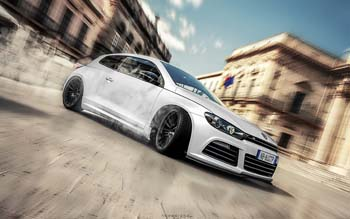Wallpaper: Car Volkswagen Scirocco R