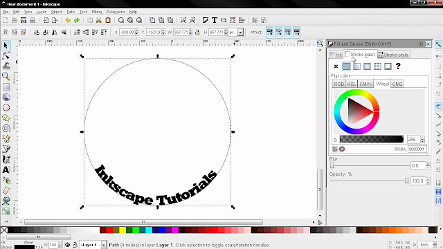 inkscape software pengganti corel gratis