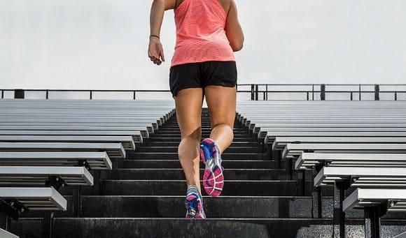План бега для похудения на лестнице