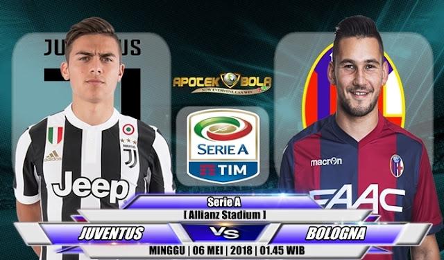 Prediksi Juventus vs Bologna 6 Mei 2018