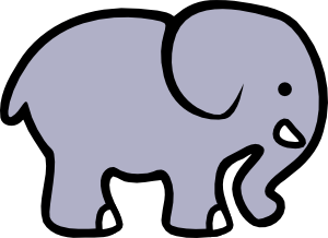 microsoft clip art elephant - photo #16