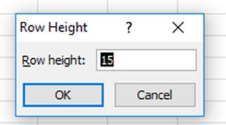 cara mengubah ukuran baris dan kolom excel